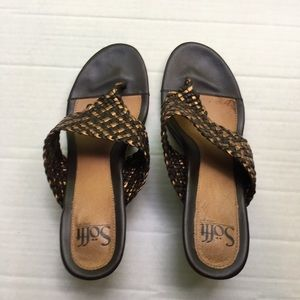 Soft Brown Sandals SZ 8M
